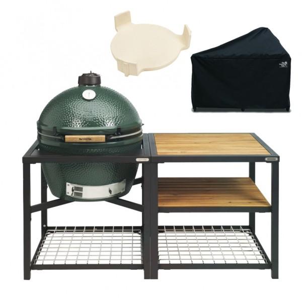 Купить Керамический гриль Big Green Egg XL в модульном столе +АКСЕССУАРЫ - 1001066 в магазине Grill Point