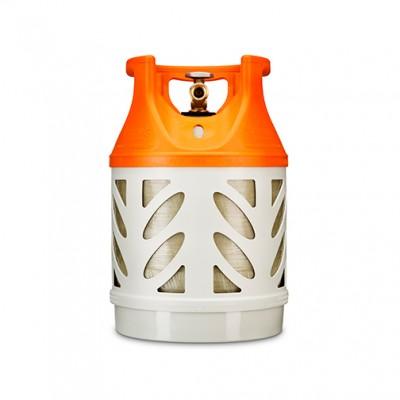 Газовый композитный баллон HEXAGON RAGASCO KLF 18,2 л, оранжевый