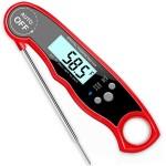 Термометр супер быстрый LoveGrill водонепроницаемый, -50°С до +300°С , красный