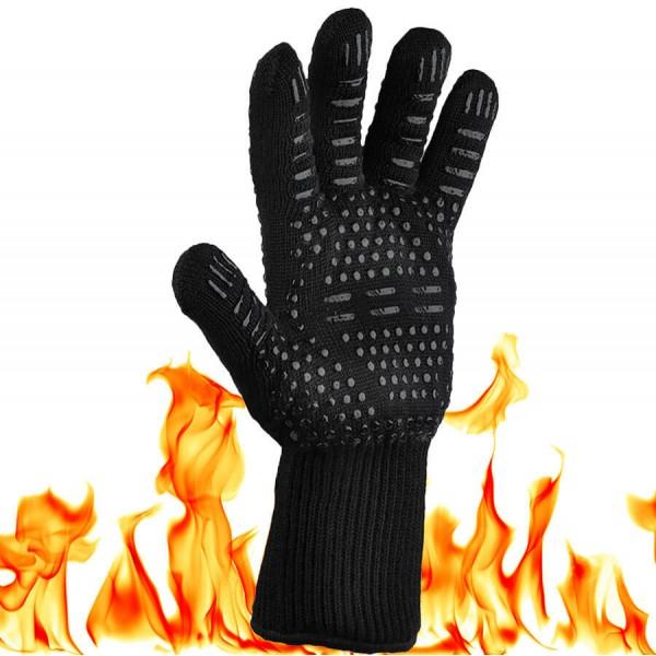 Купить Жаропрочная перчатка для гриля LoveGrill, черная - 1001035 в магазине Grill Point