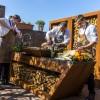 Уличная кухня Quan Quadro Rolling Corten с мойкой - 1001046 фото_4
