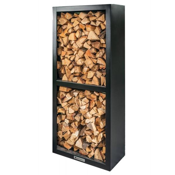 Купить Стеллаж для хранения дров Quan Quadro BASIC Carbon  - QN90079 в магазине Grill Point