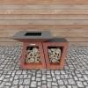 Столик приставной Quadro Premium Carbon - 1001050 фото_7
