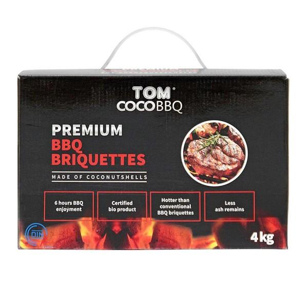 Купить Кококсовые брикеты для гриля TOM COCOCHA, 4 кг  - 1001056 в магазине Grill Point