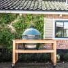 Керамический гриль Big Green Egg XL в столе из акации  - 1001064 фото_5