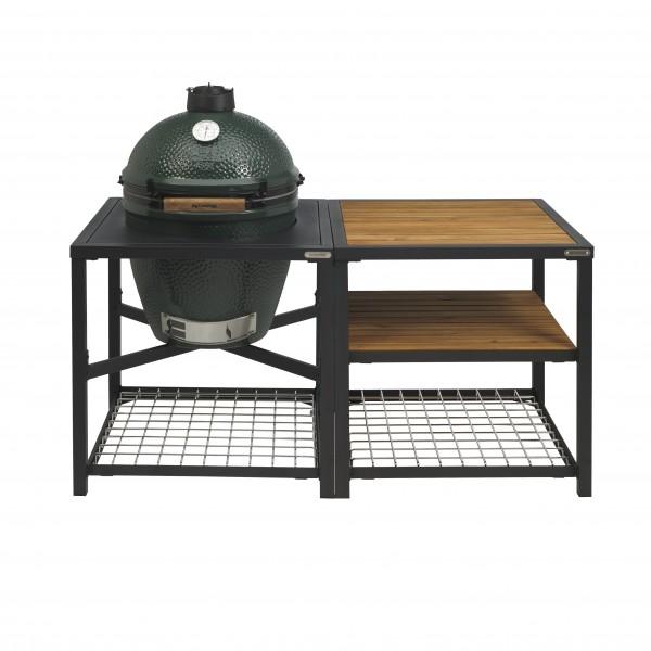 Купить Керамический гриль Big Green Egg MEDIUM  в модульном столе  - 1001069 в магазине Grill Point