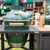 Керамический гриль Big Green Egg MEDIUM  в модульном столе  - 1001069 фото_4
