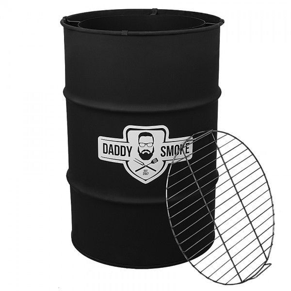 Купить Гриль- мангал бочка DADDY SMOKE - 1001092 в магазине Grill Point
