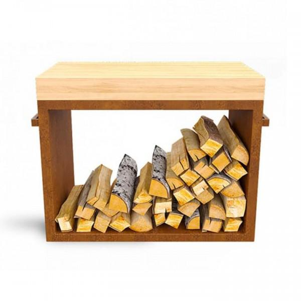 Купить Дровница AHOS WOOD Loft - 1001095 в магазине Grill Point