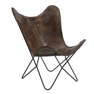 Кресло кожаное Dr. Fire для сада