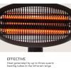 Инфракрасный электрический обогреватель BLUMFELDT HOT RODDY, 2,0 кВт - 10028606 фото_4