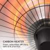 Подвесной инфракрасный электрический обогреватель Blumfeldt Camden Heat Deluxe, 2.5 кВт - 10035346 фото_5
