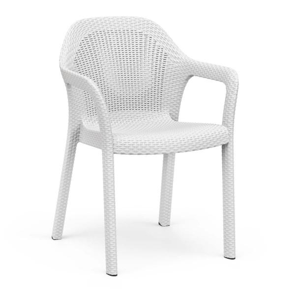 Купить Садовый стул Lechuza, белый - 10900 в магазине Grill Point