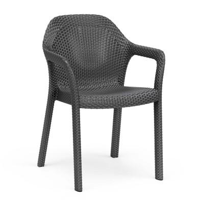 Садовый стул Lechuza, коричневый