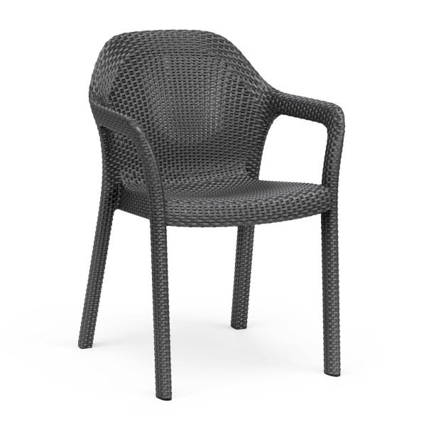 Купить Садовый стул Lechuza, коричневый - 10903 в магазине Grill Point