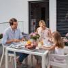 Обеденный стол для сада Lechuza 90 х 90 см, белый - 10910 фото_2
