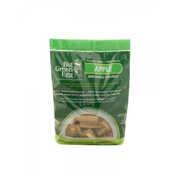 Купить Щепа для копчения крупная Яблоко Big Green Egg  - 114617 в магазине Grill Point