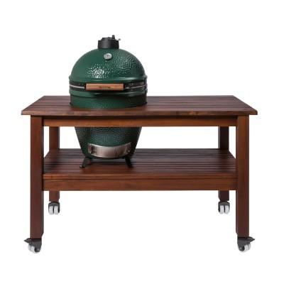 Длинный стол для гриля Big Green Egg L (Махагон)