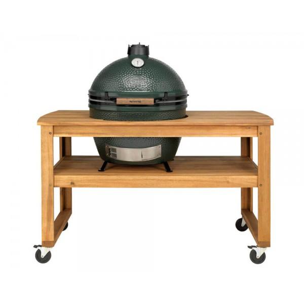 Купить Стол из акации для гриля Big Green Egg XL - 118264 в магазине Grill Point