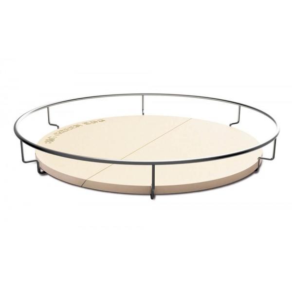 Купить Часть поверхности для приготовления, керамическая  XXL (комбинируется с корзиной 19735) Глиняный полукруг для выпекания 1шт, 61см - 120960 в магазине Grill Point