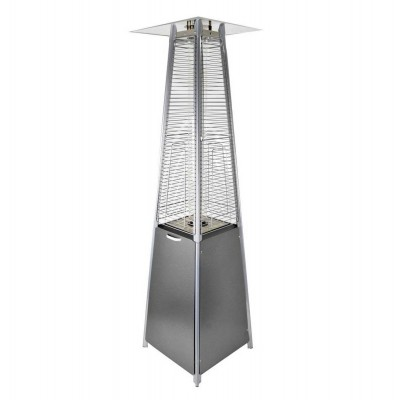 Газовый уличный инфракрасный обогреватель Activa Pyramide Cheops II, 9,3 кВ, серый