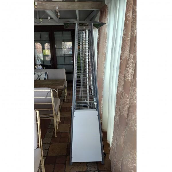 Купить Газовый уличный инфракрасный обогреватель Activa Pyramide Cheops II, 9,3 кВ, белый - 13610W в магазине Grill Point
