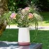 Ваза YULA белый/ярко-розовый - 13893 фото_5