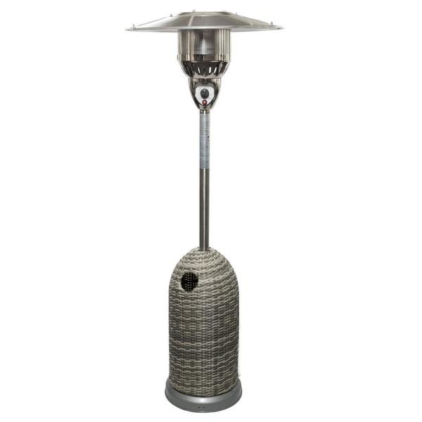 Купить Уличный газовый обогреватель Activa Brolly Rattan - 14100 в магазине Grill Point