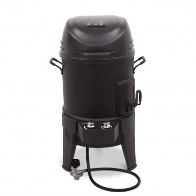 Газовая гриль-коптильня CHAR-BROIL BIG EASY SMOKER Roaster&Grill 3-in-1