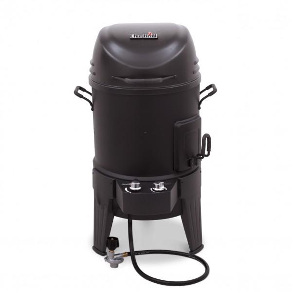 Купить Газовая гриль-коптильня CHAR-BROIL BIG EASY SMOKER Roaster&Grill 3-in-1 - 14101550 в магазине Grill Point