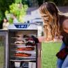 Портативная цифровая электрическая коптильня CHAR-BROIL Digital Electric Smoker Deluxe - 17202004G1 фото_4