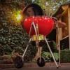 Угольный гриль Weber Master-Touch GBS 57, красный - 14615504 фото_2