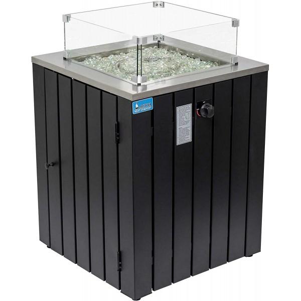 Купить Уличный газовый камин для террас ACTIVA ASANO 12,5 кВт - 14845 в магазине Grill Point