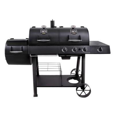 Угольно-газовый гриль-коптильня Oklahoma Joe's Longhorn Combo Charcoal / Gas Smoker Grill