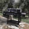 Угольно-газовый гриль-коптильня Oklahoma Joe's Longhorn Combo Charcoal / Gas Smoker Grill - 15202029 фото_4