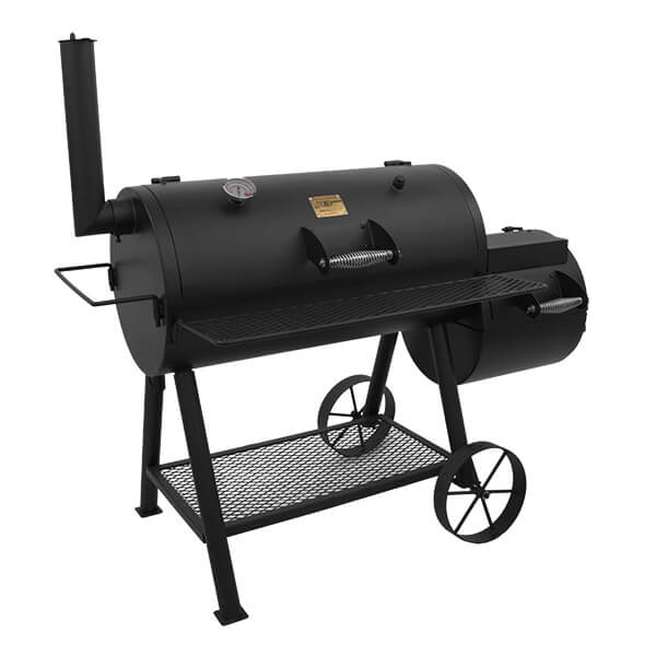 Купить Классическая полупрофесиональная угольная коптильня OKLAHOMA JOE'S HIGHLAND SMOKER/GRILL - 15202031 в магазине Grill Point
