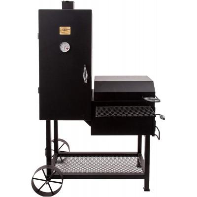Вертикальная полупрофессиональная угольная коптильня OKLAHOMA JOE'S BANDERA SMOKER/GRILL