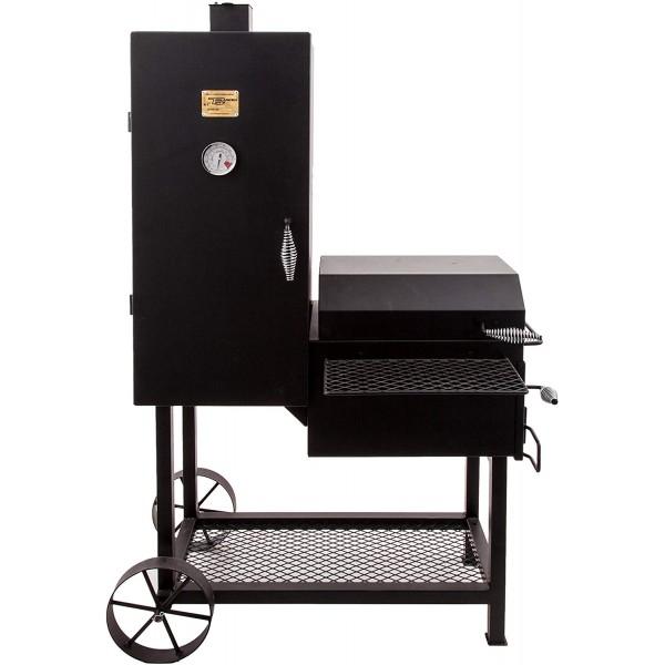 Купить Вертикальная полупрофессиональная угольная коптильня OKLAHOMA JOE'S BANDERA SMOKER/GRILL - 16202020 в магазине Grill Point