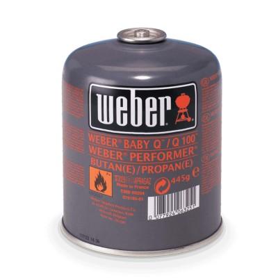 Одноразовый газовый баллон для грилей WEBER PERFORMER DELUXE, Q1000 и GO-ANYWHERE GAS