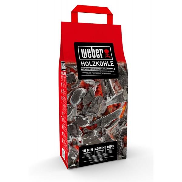Купить Древесный уголь для гриля Weber, 3 кг - 17603 в магазине Grill Point