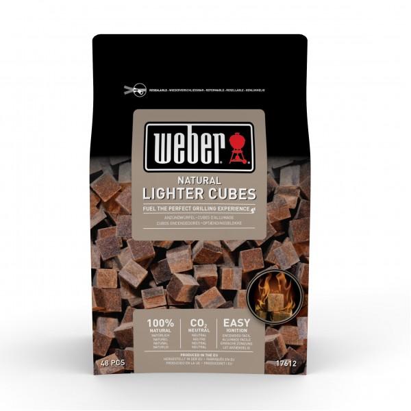 Купить Кубики для розжига угля WEBER, 48 шт - 17612 в магазине Grill Point
