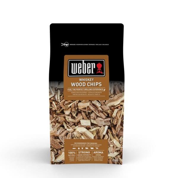 Купить Щепа для копчения Weber Whisky 0,7 кг - 17627 в магазине Grill Point