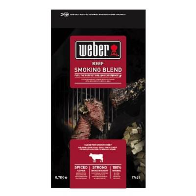 Щепа для копчения Weber к говядине, 0,7 кг