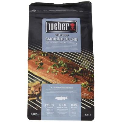 Щепа для копчения Weber к рыбе и морепродуктам, 0,7 кг