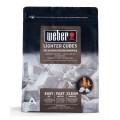 Следующий товар Кубики для розжига угля Weber на основе парафина, 22 шт.