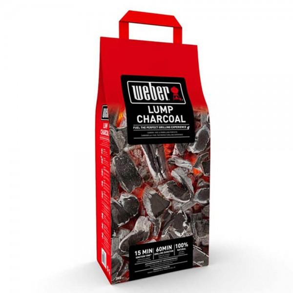 Купить Древесный уголь для гриля Weber, 3 кг - 17824 в магазине Grill Point