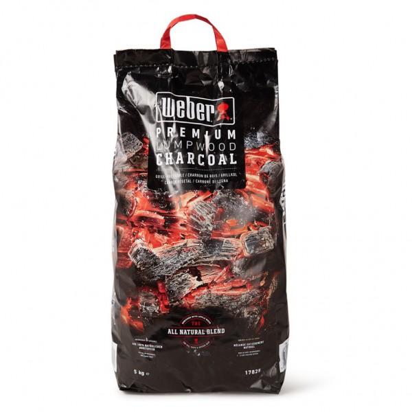 Купить Древесный уголь для гриля WEBER, 5кг - 17825 в магазине Grill Point