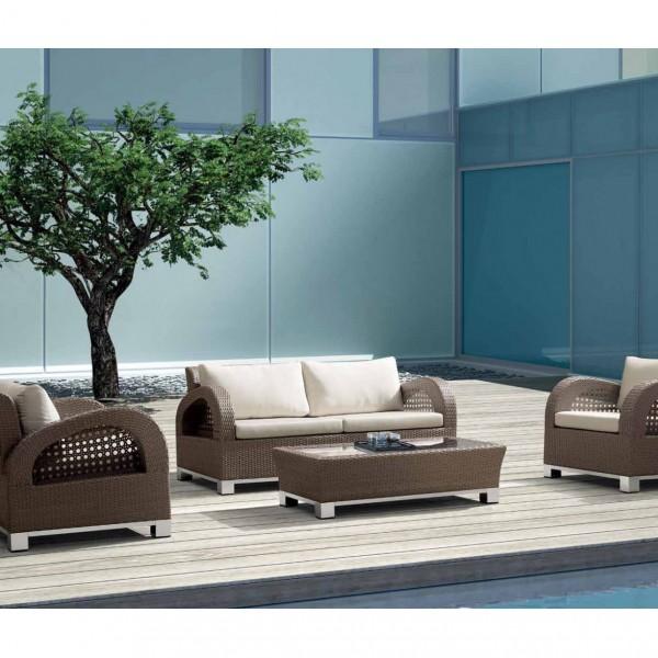 Купить Комплект мебели для отдыха со столиком Juno - 17845 в магазине Grill Point