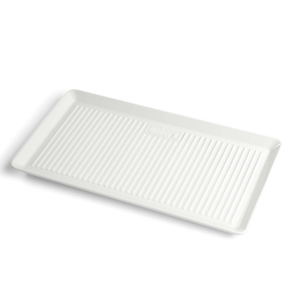 Купить Блюдо фарфоровое Weber, прямоугольное, 40 x 22 cм - 17884 в магазине Grill Point