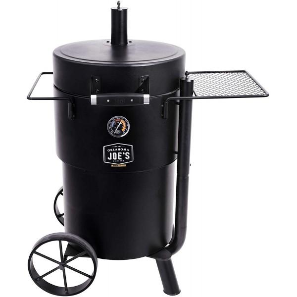 Купить Коптильня-гриль на углях Oklahoma Joe's Bronco Drum Smoker - 19202097 в магазине Grill Point
